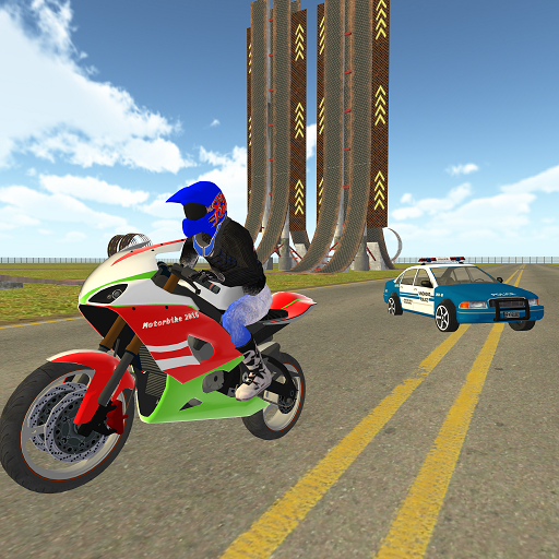 Bike Rider VS Cop Car – Police Chase & Escape Game  (Unlimited money,Mod) for Android 1.18