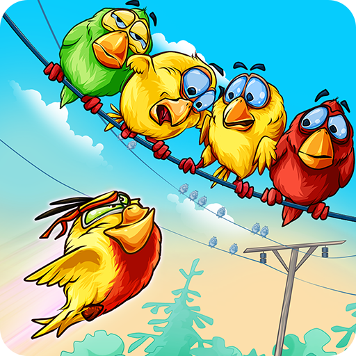 Birds On A Wire: Free Match 3  (Unlimited money,Mod) for Android 1.1.2