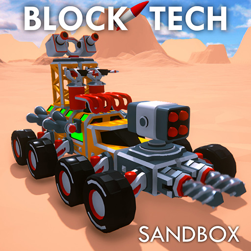 Block Tech : Epic Sandbox Craft Simulator Online  (Unlimited money,Mod) for Android 1.76