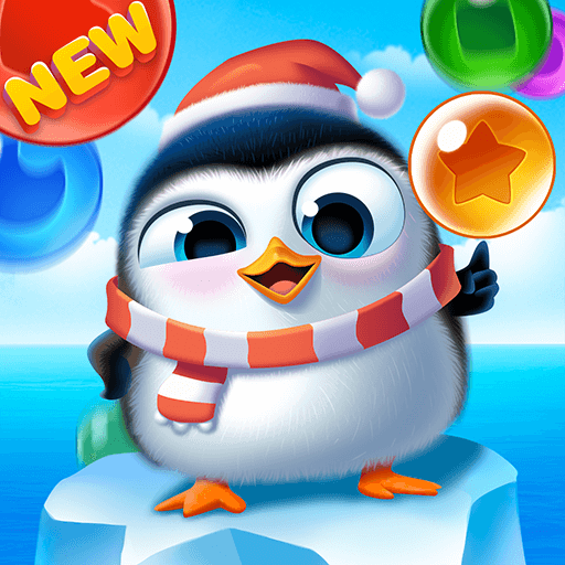 Bubble Penguin Friends  (Unlimited money,Mod) for Android 1.5.6