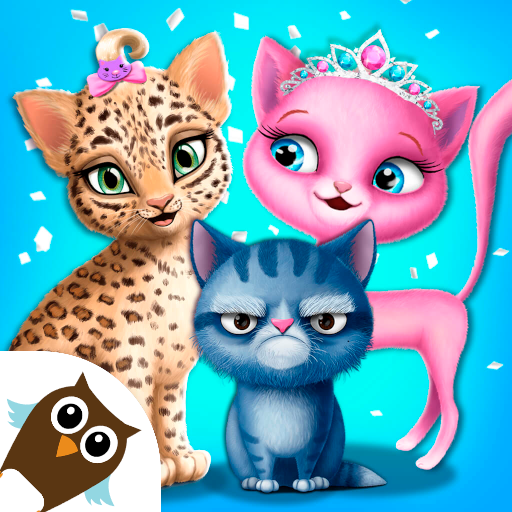 Cat Hair Salon Birthday Party – Virtual Kitty Care  (Unlimited money,Mod) for Android 8.0.80006