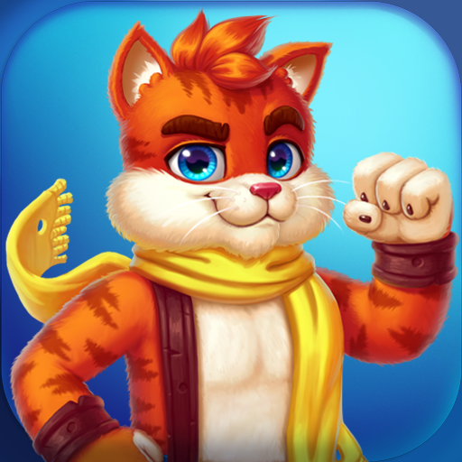 Cat Heroes: Puzzle Adventure  (Unlimited money,Mod) for Android 51.2.1