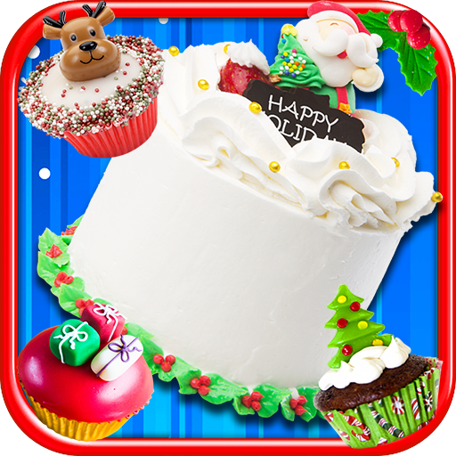Christmas Cake Maker Bake & Make Food Cooking Game  (Unlimited money,Mod) for Android 1.8