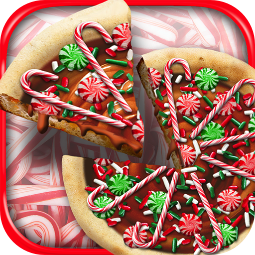 Christmas Candy Pizza Maker Fun Food Cooking Game  (Unlimited money,Mod) for Android 1.4