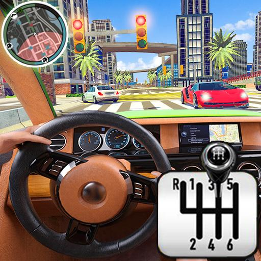 City Driving School Simulator: 3D Car Parking 2019  4.6 (Unlimited money,Mod) for Android