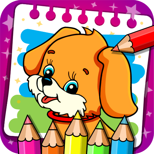 Coloring & Learn Animals – Kids Games  (Unlimited money,Mod) for Android 1.16