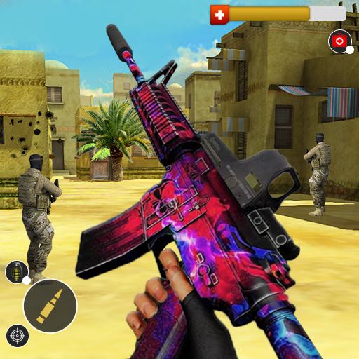 Counter Terrorist Critical Strike Force Special Op  (Unlimited money,Mod) for Android 4.0