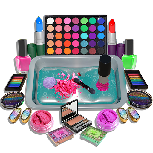 DIY Makeup Slime Maker! Super Slime Simulations  (Unlimited money,Mod) for Android 1.0.17