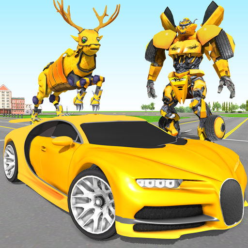 Deer Robot Car Game – Robot Transforming Games  (Unlimited money,Mod) for Android 1.0.4