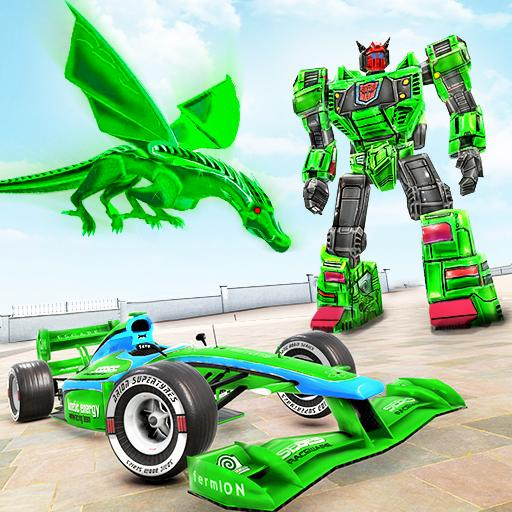 Dragon Robot Car Game – Robot transforming games  (Unlimited money,Mod) for Android 1.2.2