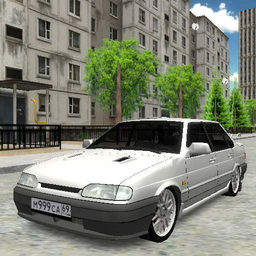 Driver 3D: Lada Samara 2115 simulator  (Unlimited money,Mod) for Android 1.1