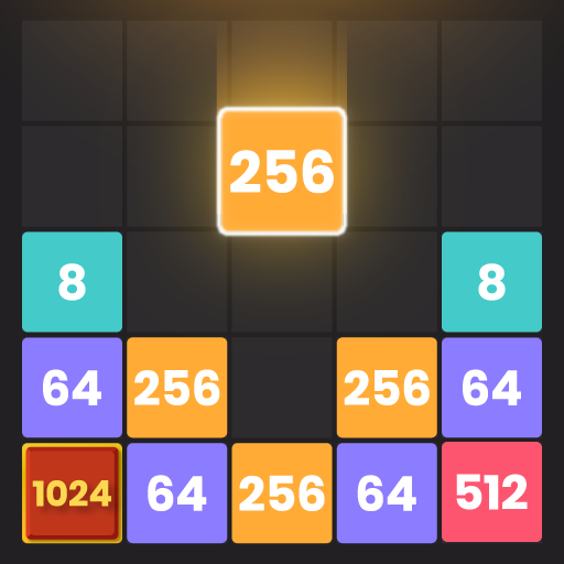 Drop & Merge: Number Puzzle 2048  (Unlimited money,Mod) for Android 1.1.0.1