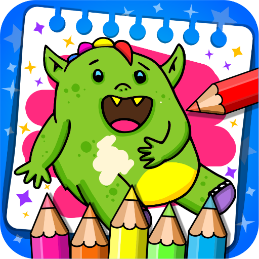 Fantasy – Coloring Book & Games for Kids  (Unlimited money,Mod) for Android 1.19