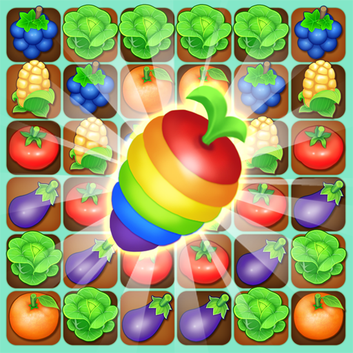 Farm Raid Cartoon Match 3 Puzzle  1.0.50 (Unlimited money,Mod) for Android