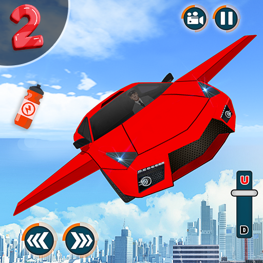 Flying Car Shooting Game: Modern Car Games 20 1.1