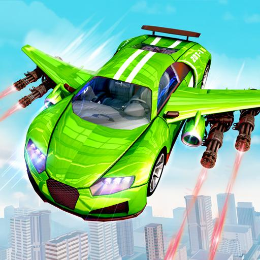 Flying Robot Car: Robot Fighting Games  (Unlimited money,Mod) for Android v 2.3