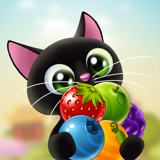 Fruity Cat –  bubble shooter!  (Unlimited money,Mod) for Android 1.62.3