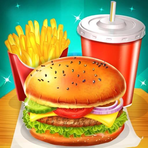Happy Kids Meal Maker – Burger Cooking Game  (Unlimited money,Mod) for Android 1.2.8