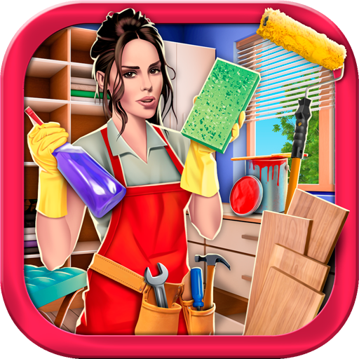 House Cleaning Hidden Object Game – Home Makeover  (Unlimited money,Mod) for Android 2.8