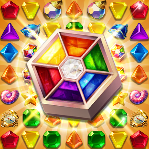 Jewels Fantasy : Quest Temple Match 3 Puzzle  (Unlimited money,Mod) for Android 1.8.4
