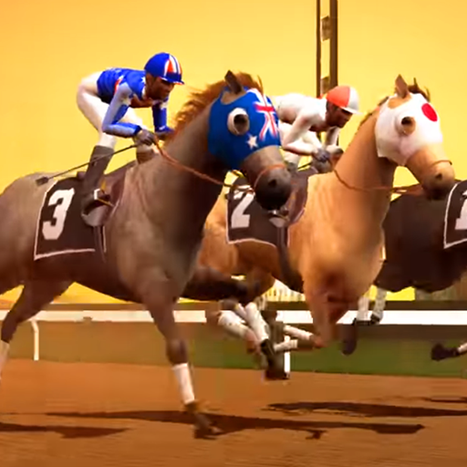 Jumping Horse Racing Simulator 3D  (Unlimited money,Mod) for Android 1.0
