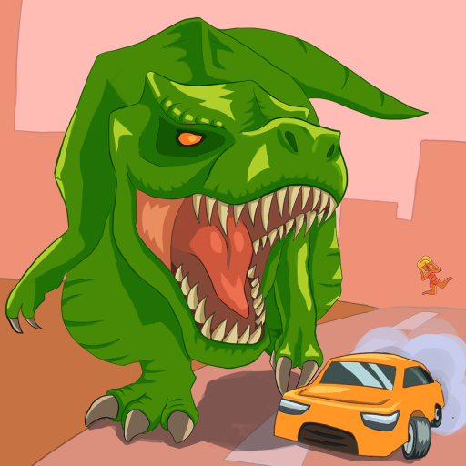 Jurassic Dinosaur: City rampage  2.12 (Unlimited money,Mod) for Android