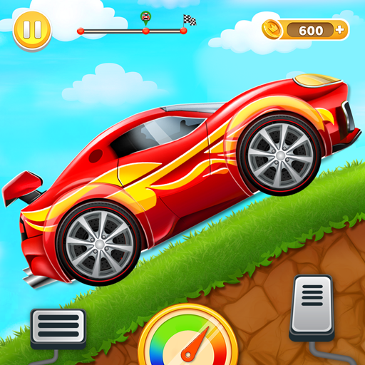 Kids Car Hill Racing: Games For Boys  (Unlimited money,Mod) for Android 2.1