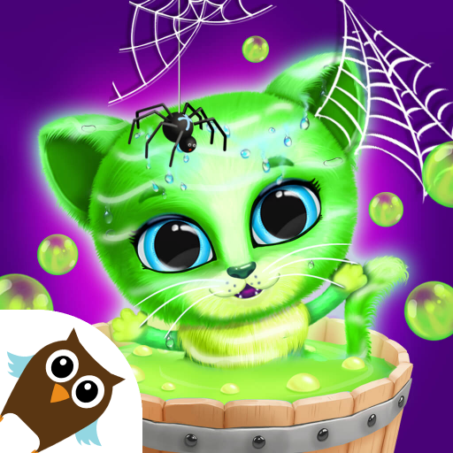 Kiki & Fifi Halloween Salon – Scary Pet Makeover  (Unlimited money,Mod) for Android 5.0.11508