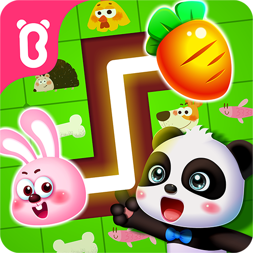 Little Panda's Pet Line Puzzle  (Unlimited money,Mod) for Android 8.48.00.01