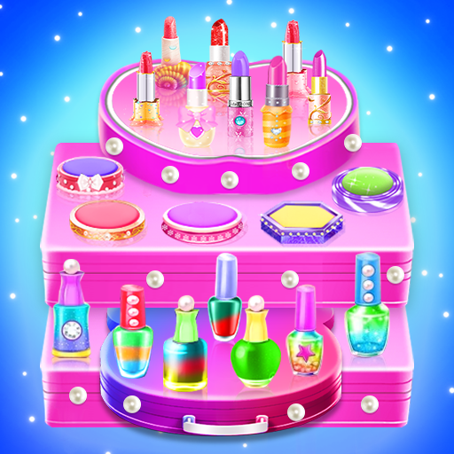 Makeup kit cakes : cosmetic box makeup cake games  (Unlimited money,Mod) for Android 1.0.13