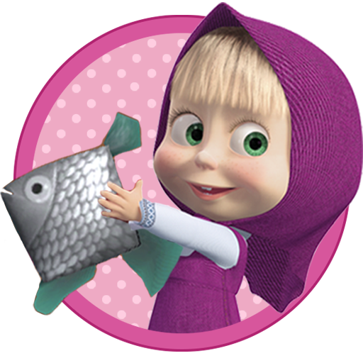 Masha and the Bear: Kids Fishing  (Unlimited money,Mod) for Android 1.2.2