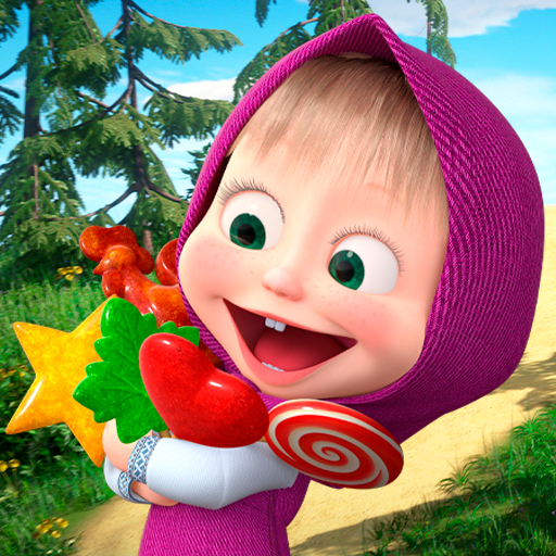 Masha and the Bear: Running Games for Kids 3D  (Unlimited money,Mod) for Android 1.1