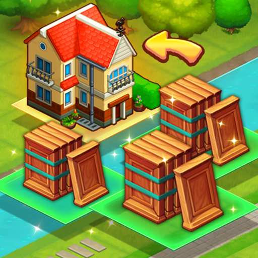 Merge train town! (Merge Games)  (Unlimited money,Mod) for Android 1.1.24