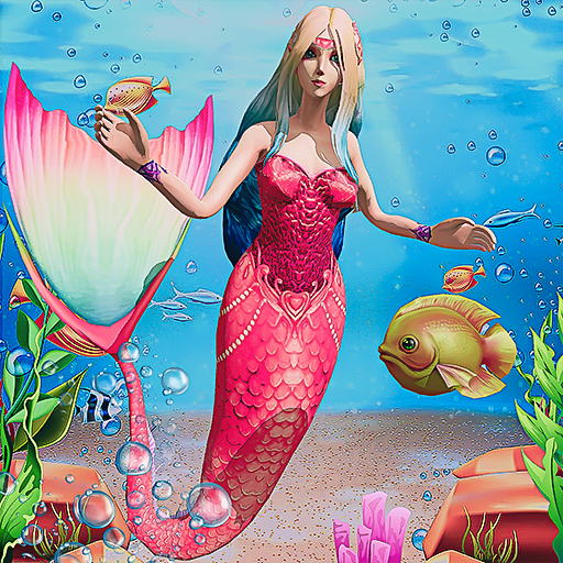 Mermaid Simulator 3D – Sea Animal Attack Games  (Unlimited money,Mod) for Android 2.2