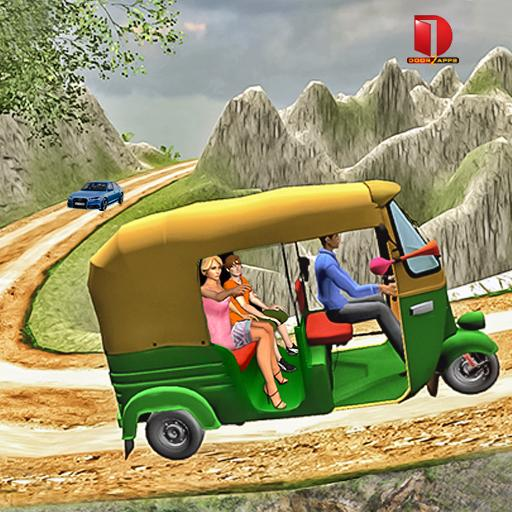 Mountain Auto Tuk Tuk Rickshaw : New Games 2020 (Unlimited money,Mod) for Android 2.0.23
