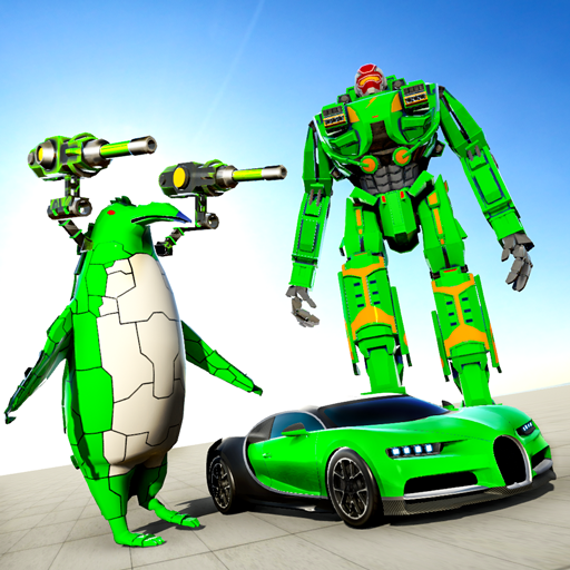 Penguin Robot Car Game: Robot Transforming Games  (Unlimited money,Mod) for Android 4