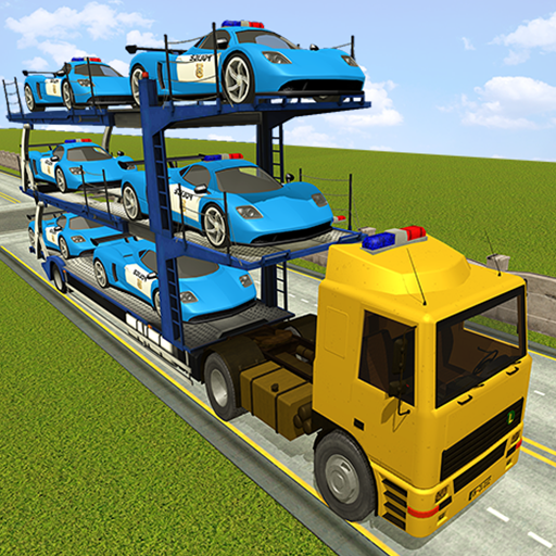 Police Car Transporter Simulator: Truck Driving 3d  (Unlimited money,Mod) for Android 2.7