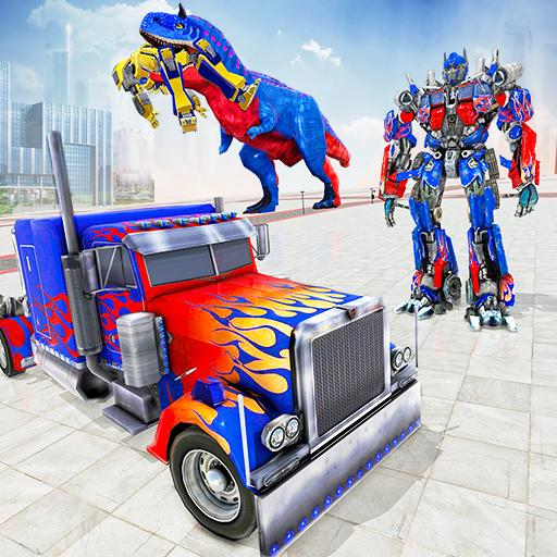 Police Truck Robot Game – Transforming Robot Games  (Unlimited money,Mod) for Android 1.0.6