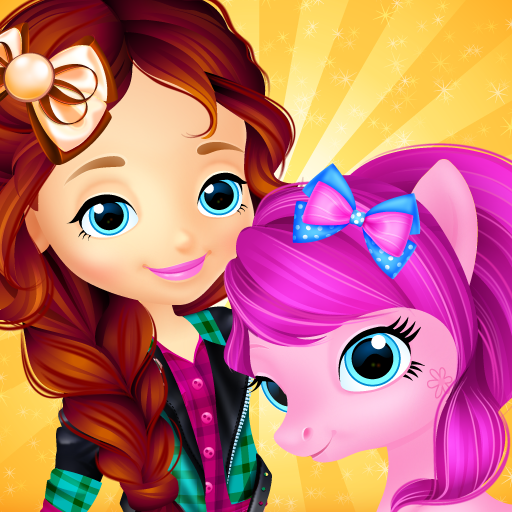 Pony & Girl Dress Up  (Unlimited money,Mod) for Android 1.3