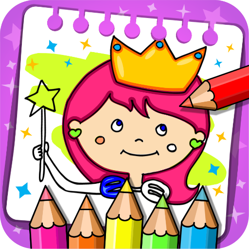 Princess Coloring Book & Games  (Unlimited money,Mod) for Android 1.42