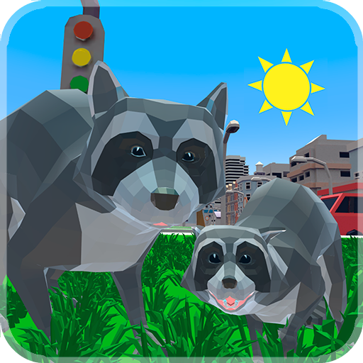 Raccoon Adventure: City Simulator 3D  (Unlimited money,Mod) for Android 1.02