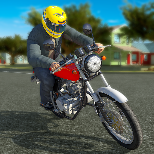 Real Bike 3D Parking Adventure: Bike Driving Games  (Unlimited money,Mod) for Android 11.1