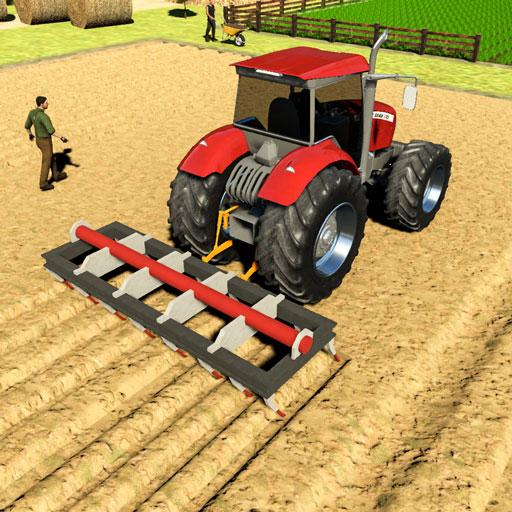 Real Tractor Driving Games- Tractor Games  1.0.16 (Unlimited money,Mod) for Android