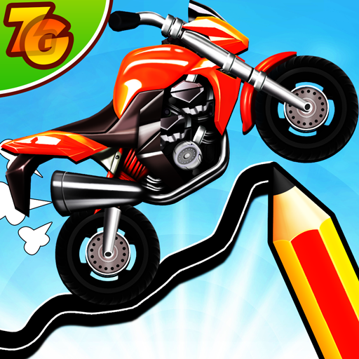 Road Draw 2: Moto Race  (Unlimited money,Mod) for Android 1.6.7