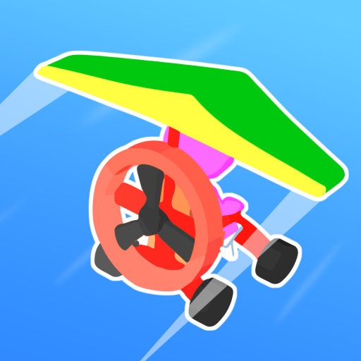 Road Glider – Incredible Flying Game  (Unlimited money,Mod) for Android 1.0.22