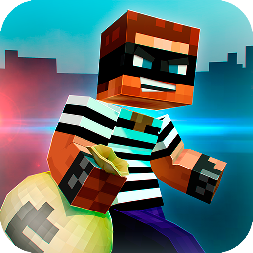 🚔 Robber Race Escape 🚔 Police Car Gangster Chase  (Unlimited money,Mod) for Android 3.9.4