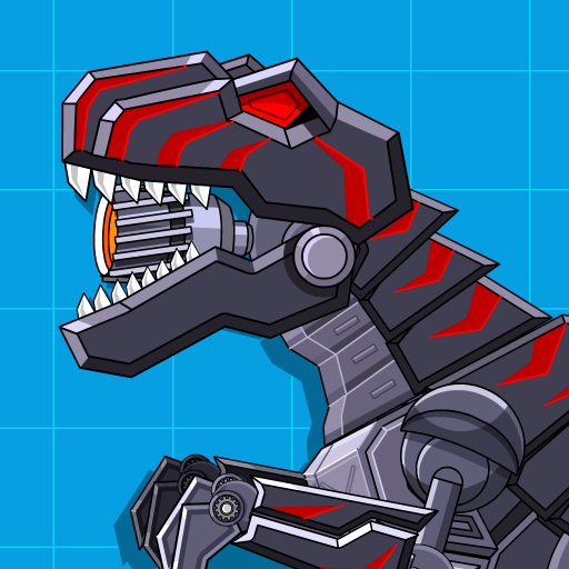 Robot Dinosaur Black T-Rex  (Unlimited money,Mod) for Android 2.5