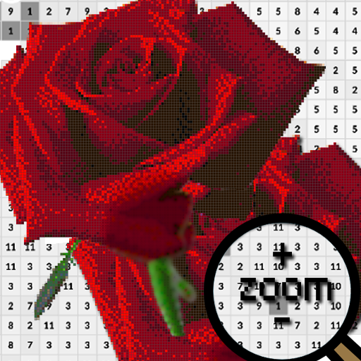 Rose Flower Pixel Art-Color By Number New 2021  (Unlimited money,Mod) for Android 7.0
