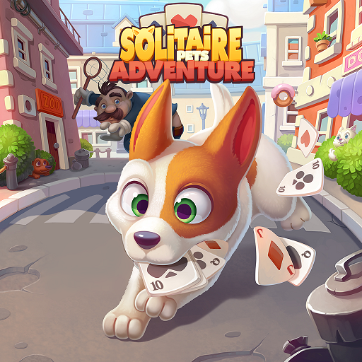 Solitaire Pets Adventure – Free Solitaire Fun Game  (Unlimited money,Mod) for Android 2.15.57
