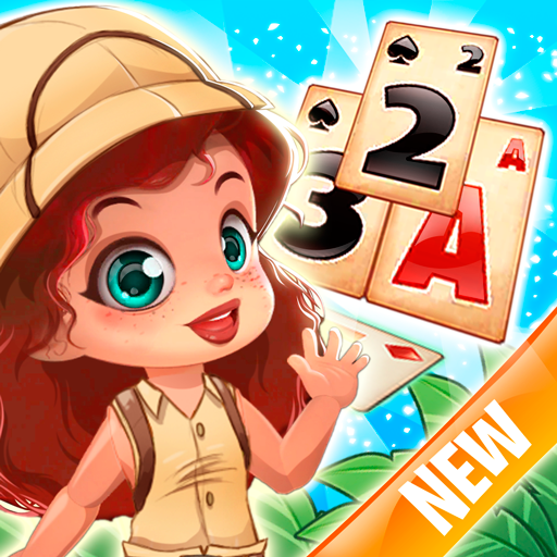 Solitaire Tripeaks Lost Worlds Adventure  4.4 (Unlimited money,Mod) for Android